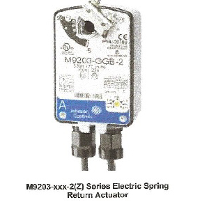 Johnson Electric Actuators - Direct Mount, Spring Return