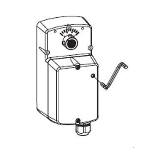TAC DuraDrive Electric Overshaft Actuator w/Manual Override MA4D-703X MA4D-803X