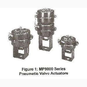 MP8000 Series Pneumatic Valve Actuators