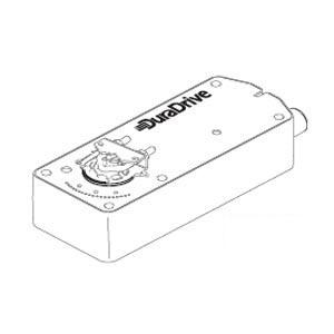 TAC DuraDrive Electric Direct Mount Damper Actuator w/Manual Override MA41-7070