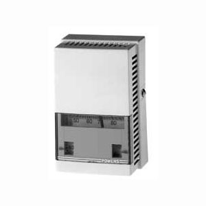 Powers 192 D/N Dual Temperature Room Thermostat