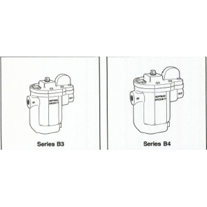 Hoffman Series B3 B4 Inverted Bucket Steam Traps BearTrap