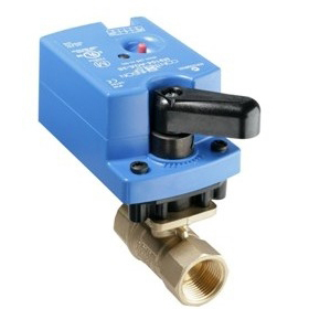 VG1241XX Two-Way Plated Brass Trim NPT Ball Valve