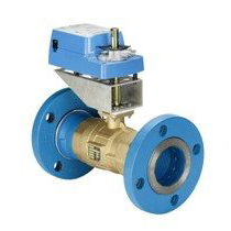 VG12A5XX Two-Way Flanged Ball Valve
