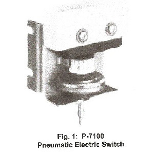 P-7100 Pneumatic Electric Switch