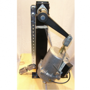 Single with Positioner floor mount 18in lever arm