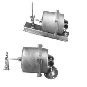 Actuator 8-13 psi w/ positioner & aux mtg bracket