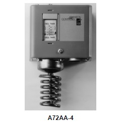 A72 Coiled Bulb Space Thermostat (Cooling)