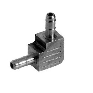F-500-45 elbow coupler, barbed, 5/32 x 5/32 in.