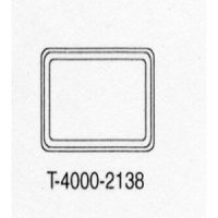 T-4000-2138 Beige Plastic Cover no logo, no window