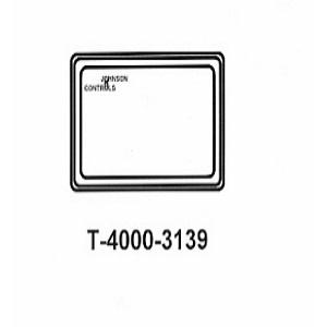 T-4000-3139 White Plastic Cover no therm, no window