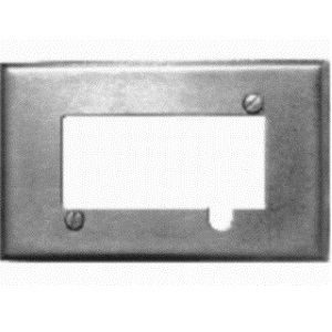 TE-1800-9600 Wallplate cover kit Stainless Steel