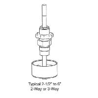 "Rebuild Kits VB-8000 2 1/2"" - 6"" Two and Three-Way Flanged Iron Globe Valves"