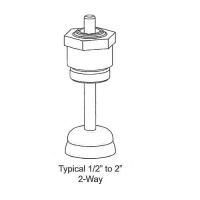"Rebuild Kits VB-7000 1/2"" - 2"" Two-Way Bronze Globe Valves Normally Closed"