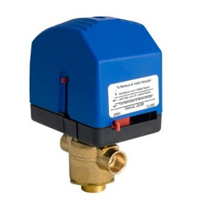 VM Series PopTop Modulating Spring Return Valve Assemblies 3-Way Floating