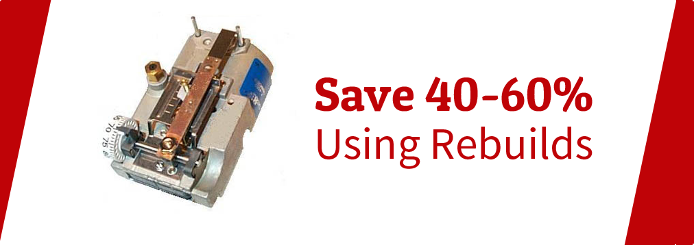 Save 40-60% Using Rebuilds